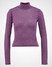 NA-KD NAKD HIGH NECK LYREX Topper langermet purple
