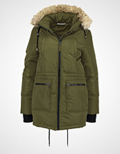 Noisy May NMCANNEY HOOD  Parka ivy green