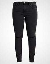 Zizzi JEANS LONG MOLLY Slim fit jeans dark grey denim