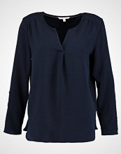 Tom Tailor Denim STRUCTURED TUNIC WITH PLEAT  Bluser navy blue