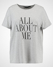 Dorothy Perkins Curve ALL ABOUT ME MOTIF TEE Tshirts med print grey