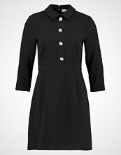 Warehouse DIAMANTE BUTTON DRESS Kjole black