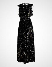 Whistles Fotsid kjole black multi