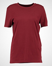Selected Femme SFMY PERFECT  Tshirts dark red