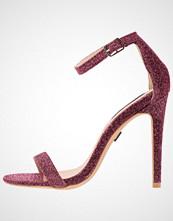 Lost Ink PARTY HEELED SANDAL Sandaler med høye hæler bright pink