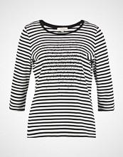 comma casual identity TSHIRT 3/4  Topper langermet grey/black stripes