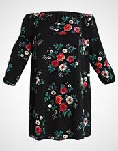 Glamorous Curve BRADOT DRESS Sommerkjole black magenta rose