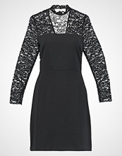 Warehouse LACE AND CREPE DRESS Hverdagskjole black