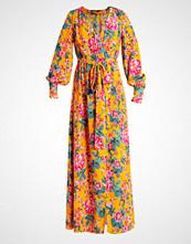 Bik Bok DW CHRISTY  Fotsid kjole orange flower print