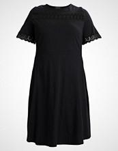 Dorothy Perkins Curve INSERT FLUTTER SLEEVE Jerseykjole black