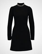 Warehouse EMBELLISHED NECK DRESS Sommerkjole black