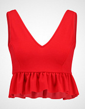 New Look GO DEEP Topper bright red
