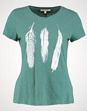 Tom Tailor Denim FEATHER Tshirts med print sea pine green