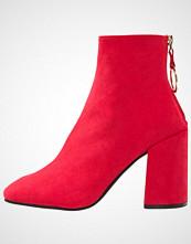Dorothy Perkins ATLAS Ankelboots med høye hæler bright red