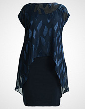 Live Unlimited London FEATHER OVERLAY DRESS Sommerkjole navy