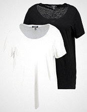 New Look Curves 2 PACK Tshirts black/white