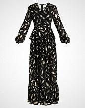 Yas YASGOLD LEAF DRESS Ballkjole black