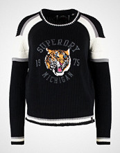 Superdry PREPPY BLOCKED Jumper black
