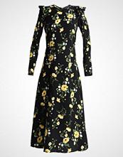 Dorothy Perkins Tall FLORAL MIDI Fotsid kjole black