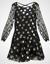 Glamorous Petite LONG SLEEVE DRESS Sommerkjole black/gold