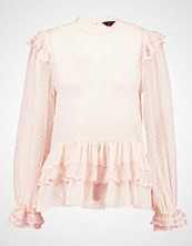 New Look DOBBY FRILL  Bluser pink