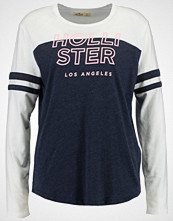 Hollister Co. PRINT CORE LOGO  Topper langermet navy