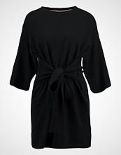 Ted Baker OLYMPY TIE FRONT  Strikket kjole black