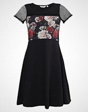 Dorothy Perkins Petite FLORAL DRESS Jerseykjole black/red