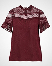 New Look GINNY DOBBY MIX SHELL Bluser burgundy
