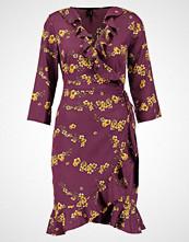 Vero Moda VMHENNA DOT 3/4 WRAP DRESS  Sommerkjole winetasting