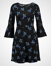 Dorothy Perkins FLORAL FIT AND FLARE Jerseykjole blue