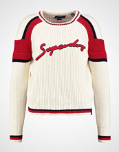 Superdry PREPPY BLOCKED Jumper cream