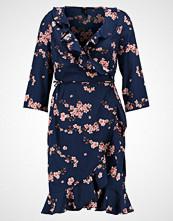 Vero Moda VMHENNA DOT 3/4 WRAP DRESS  Sommerkjole navy blazer