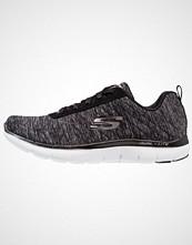 Skechers Sport FLEX APPEAL 2.0 Joggesko black/charcoal/white