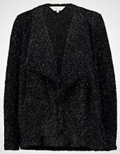 Dorothy Perkins SPARKLE WATERFALL CARDIGAN Cardigan black