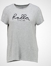 Only ONLBANNI TOP  Tshirts med print light grey