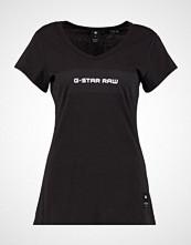 G-Star GStar LAJLA SLIM V T S/S Tshirts med print dk black