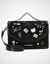 Karl Lagerfeld KLASSIK PINS SHOULDERBAG Håndveske black