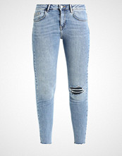 New Look 5 POCKET RIPPED LOTUS Jeans Skinny Fit mid blue
