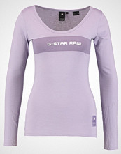 G-Star GStar LAJLA GRAPHIC SLIM R T L/S Topper langermet dk lilac