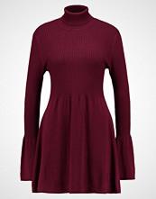 Vero Moda VMNORWALK GLORY SHORT DRESS Strikket kjole zinfandel