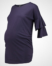 New Look Maternity TIERRED SLEEVE Tshirts med print navy