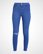 New Look RIPPED DISCO Jeans Skinny Fit light blue