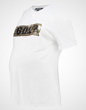 New Look Maternity 2 WAY TEE Tshirts med print white