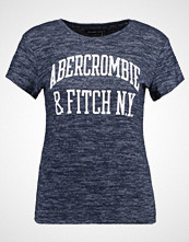 Abercrombie & Fitch COZY LOGO TEE Tshirts med print navy