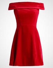 Karen Millen BANDEAU DRESS Cocktailkjole red