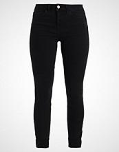 New Look BLACK TURN UP LIQUORICE Jeans Skinny Fit black