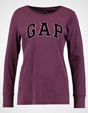 GAP Topper langermet burgundy heather