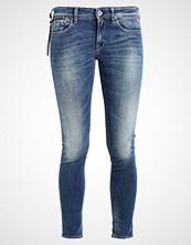 Replay LUZ COIN ZIP Jeans Skinny Fit darkblue denim