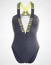 Calvin Klein Swimwear ONE PIECE Badedrakt forged iron